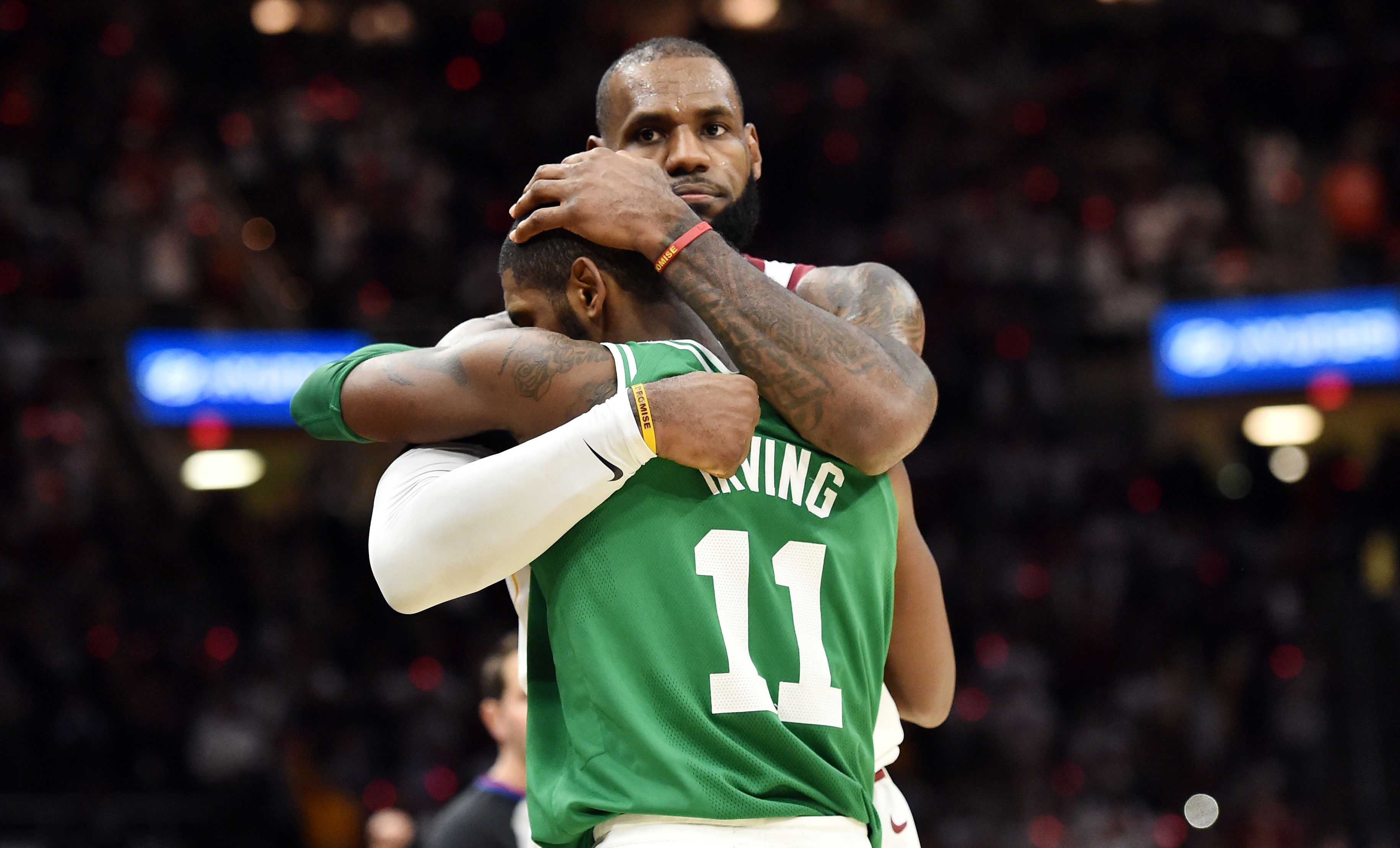 9949a8734e9a Report  Kyrie Irving Unlikely to Leave Boston Celtics - Lakers Outsiders
