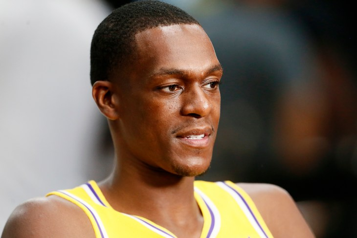 Los Angeles Lakers - Rajon Rondo