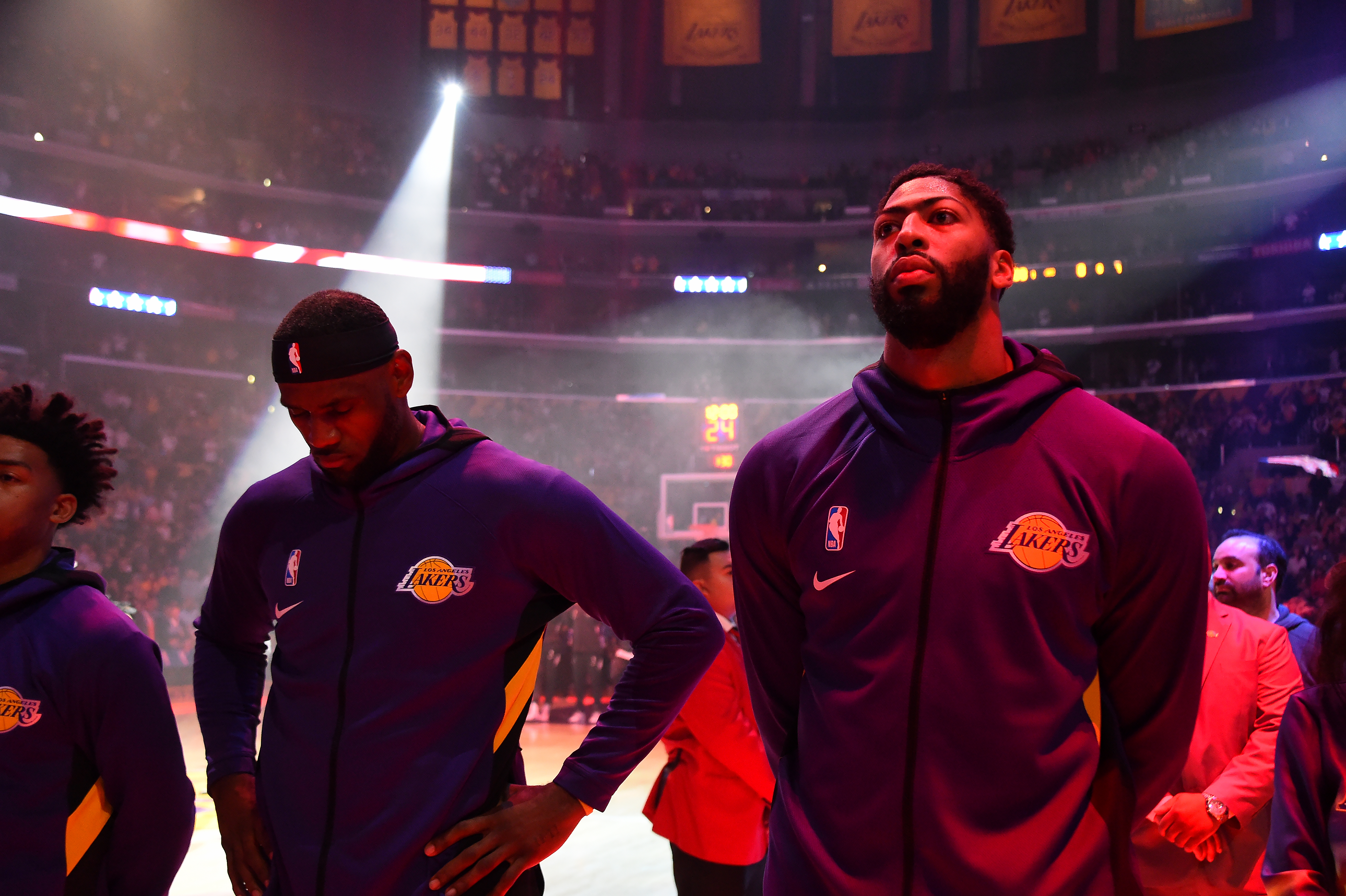 Game Three Preview Lakers Look For Dominating Series Lead Against Heat