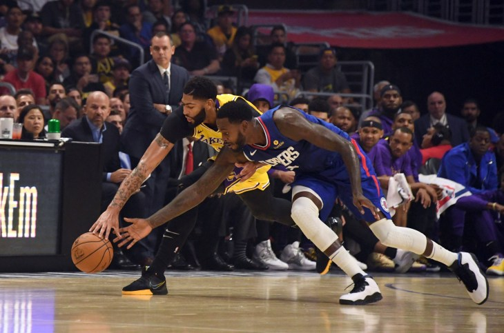 lakers vs clippers - photo #37
