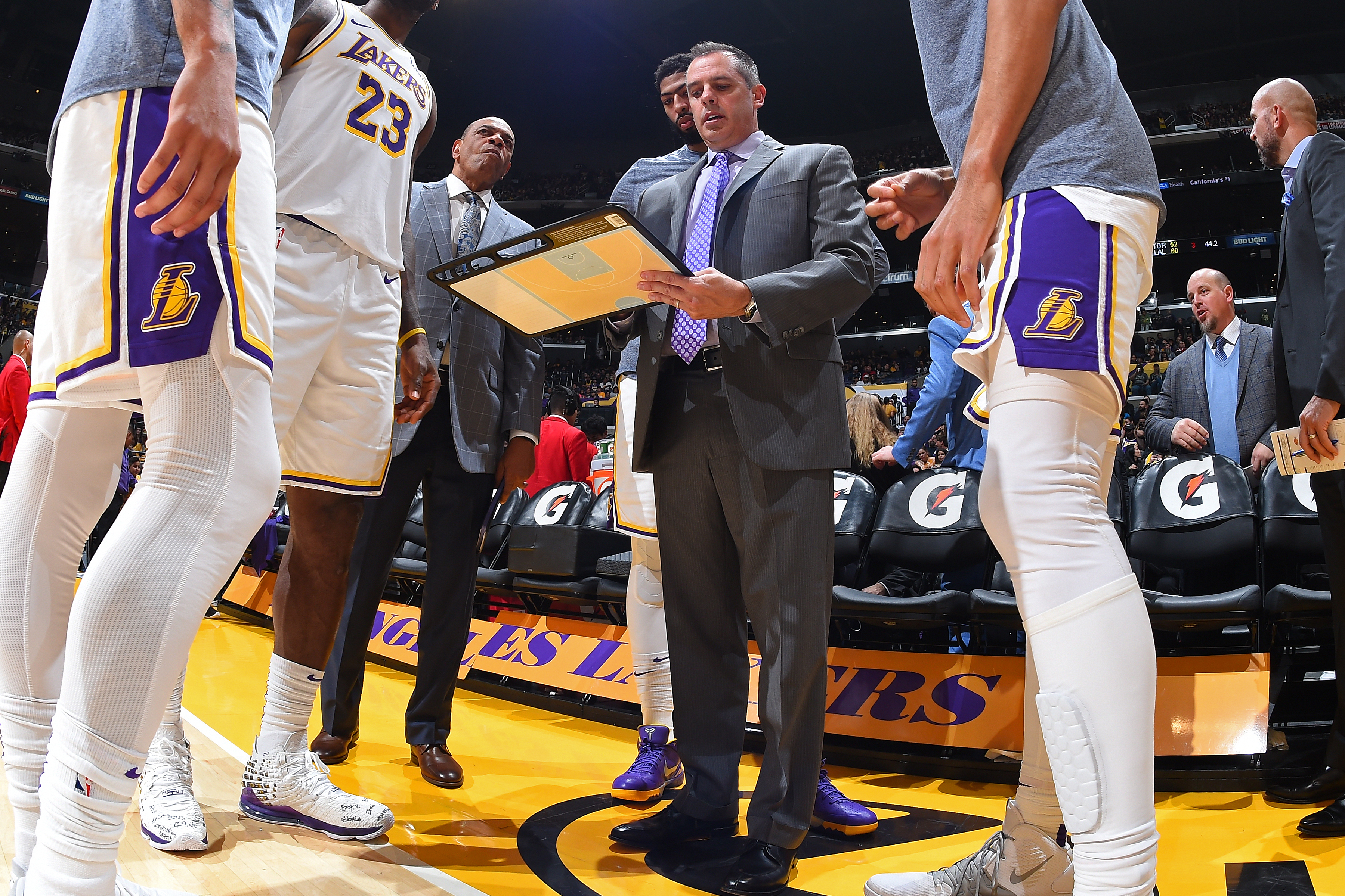 Frank Vogel and the Lakers' staff will lead Team LeBron at 2020 ...