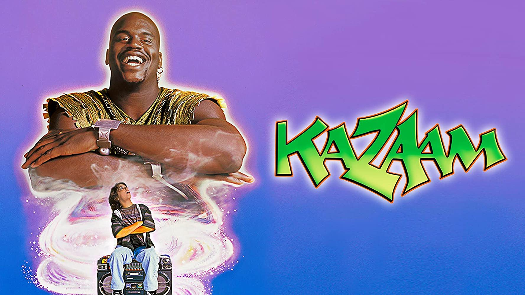 Lakers Movie Review: KAZAAM starring Shaquille O'Neal ...