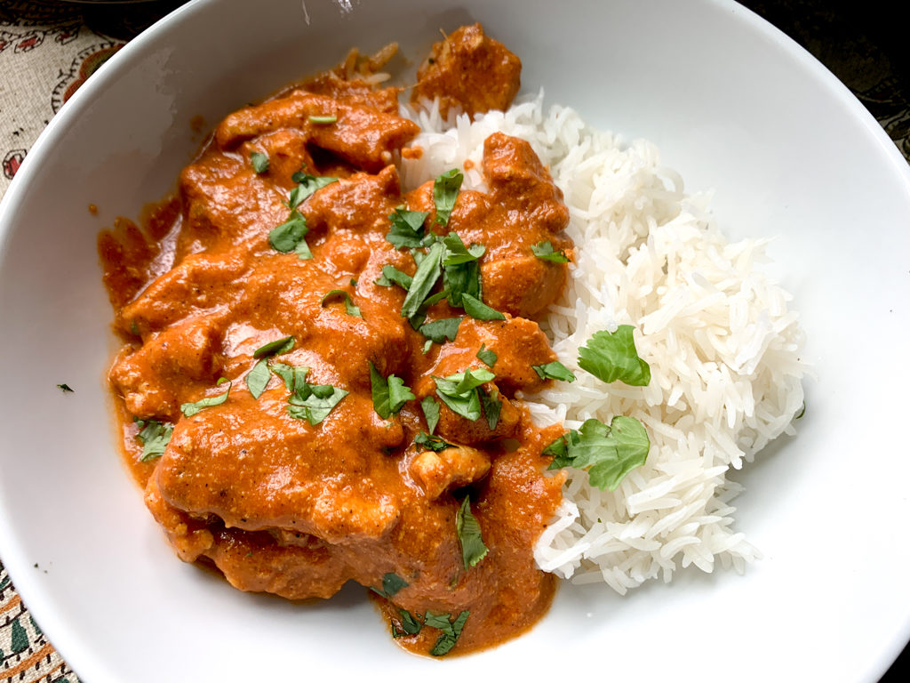Easy Indian Style Butter Chicken Curry Recipe