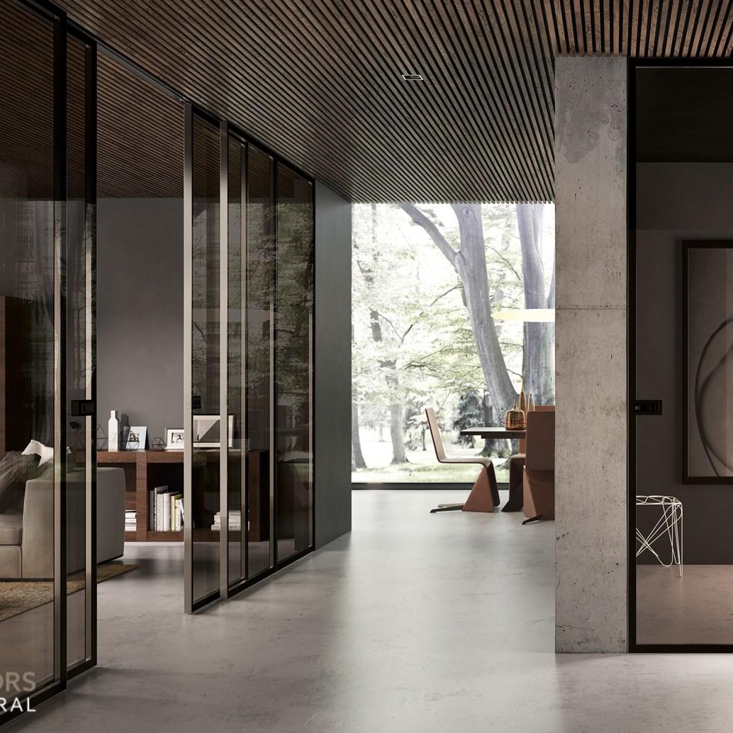 Glass Sliding & flush doors
