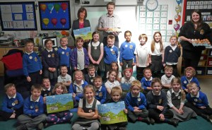 School visit from Lakes Free Range Egg Co