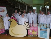 Students at Lakes Free Range Egg Co