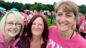 Race For Life team from Lakes