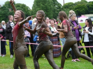 muddy race ends