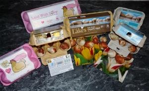 bio-degradable egg boxes