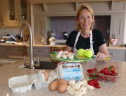 Judith makes meringue