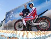 Lakes Free Range Egg Co sponsors motorcyclist