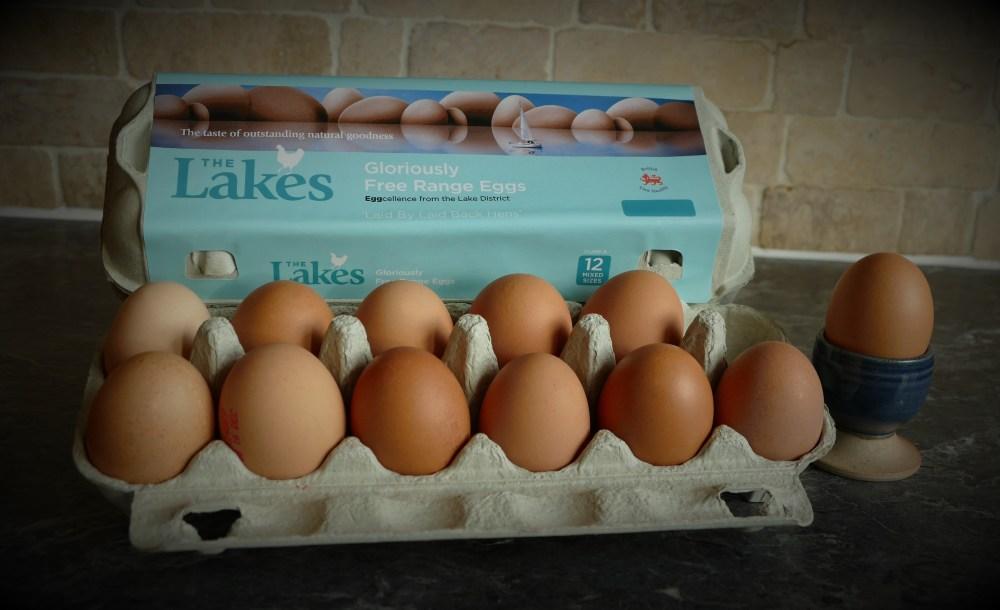 Lakes Free Range Eggs - 12 pack
