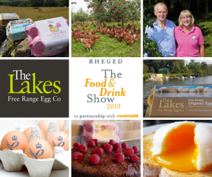 lakes free range at food event