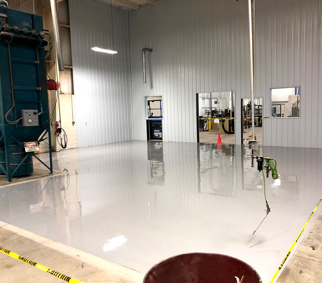 West Michigan Flooring solutions, garage