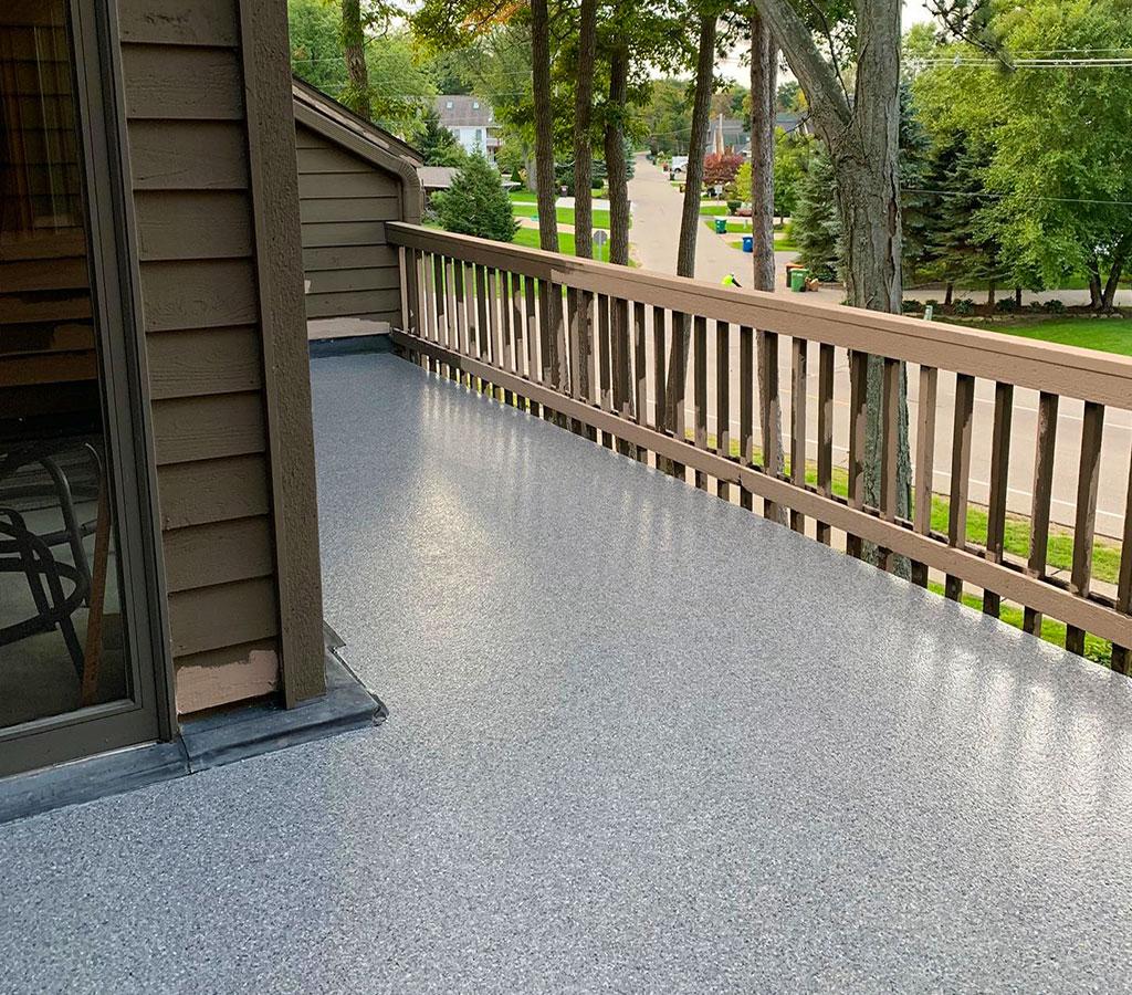 deck floor