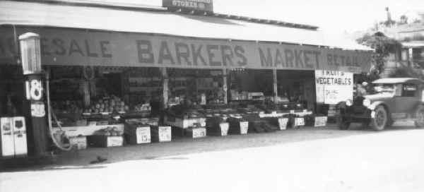 Barkers Market 1929