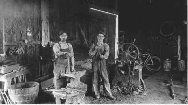 Beamer's Blacksmith Shop c.1900