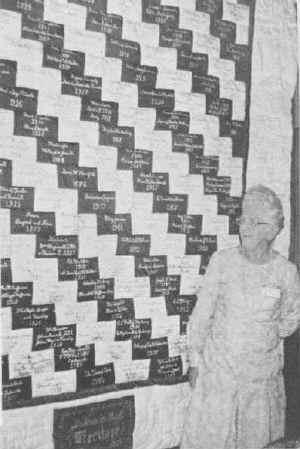 First Lakeside Historical Society Quilt