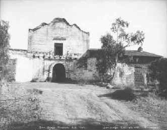 San Diego Mission c.1912