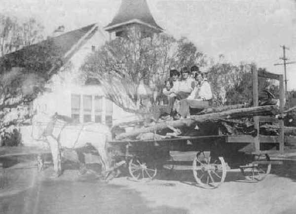 Bringing Wood for the Church, c. 1928