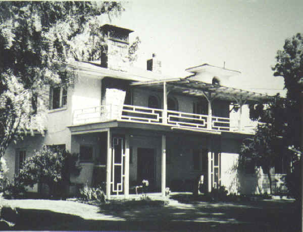 McClain's Lemon Crest home c.1950s