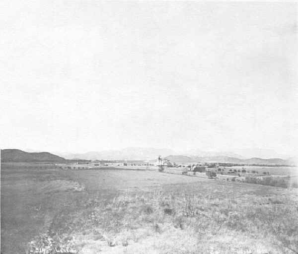 Lakeside Town site 1882