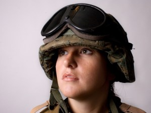 a woman solider