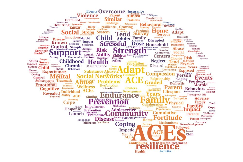 ACEs word cloud