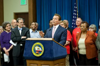 Governor Schwarzenegger Discusses Redistricting Reform