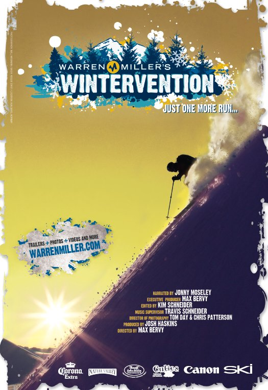 "Warren Miller's ""Wintervention"" This Weekend!"