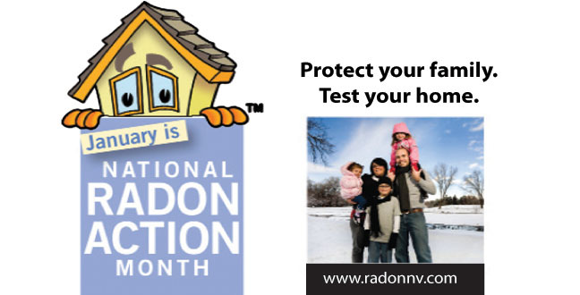 Washoe County Honored For Conservation and Sustainability: Recognizes Need for Radon Testing