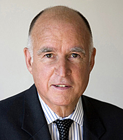 Governor Jerry Brown Sworn in For Third Term