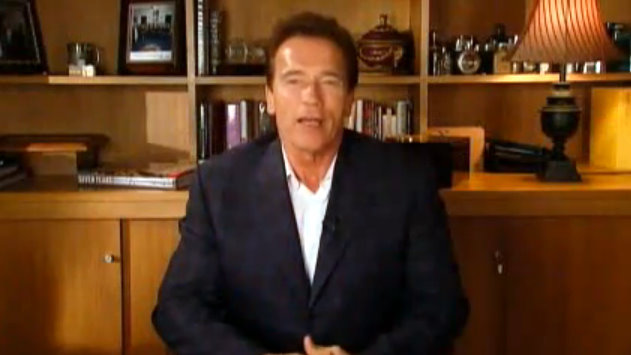 Governor Schwarzenegger Says Thank You In Last Weekly Address