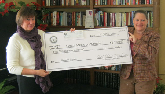 Meals on Wheels Gets Assistance