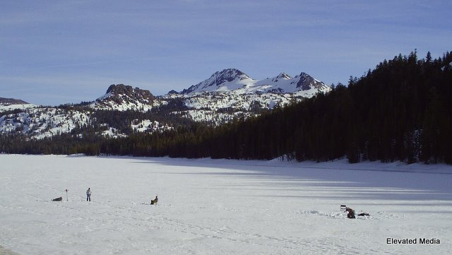 Ice Fishing in the Sierras?  Trip to Fargo Not Needed! ~By John Hamilton