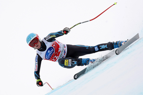Squaw's Mancuso Tops DH, Vonn Takes Overall Lead