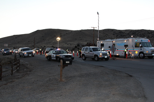 """Sheriff's Office Releases """"Joining Forces"""" DUI Checkpoint Statistics from Super Bowl Sunday"""