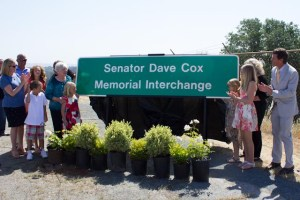 Sen Dave Cox Memorial Interchange Photo