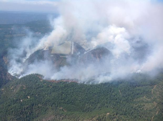 American Fire Continues To Grow…Now at 1,750 Acres