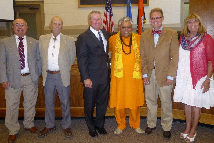 Hindu prayers open Douglas County Board