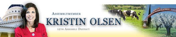Kristin Olsen Next Assembly Republican Leader
