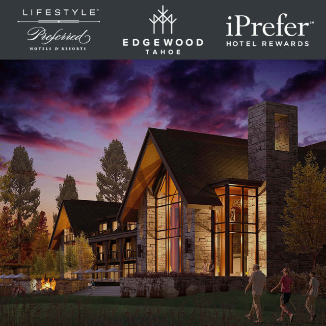 Edgewood Tahoe Accepted Into Membership Of Preferred Hotels & Resorts