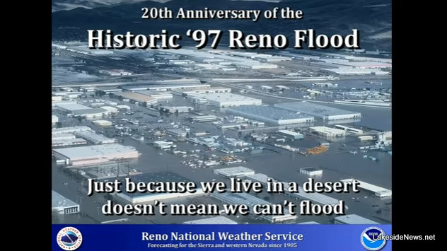 20th Anniversary Commemorative Video of 97 Reno Flood