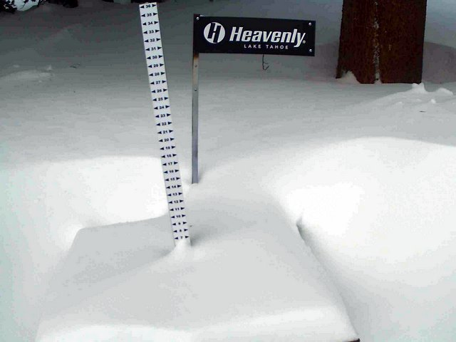 Tahoe Snow Report For February 4th….Some Resorts Pickup Over 20 Inches Of Fresh