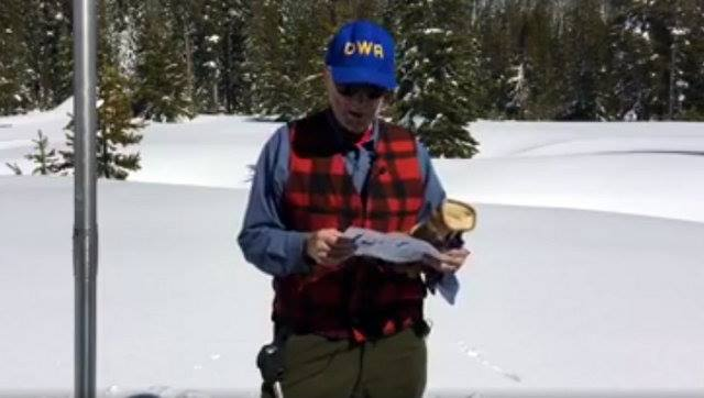 Sierra Snowpack's Water Content Remains Far above Average