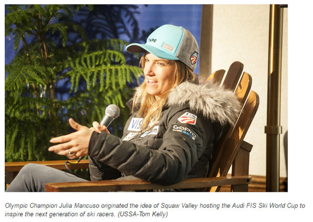 Squaw Valley Hopes to Motivate Future Generation With World Cup Ski Race