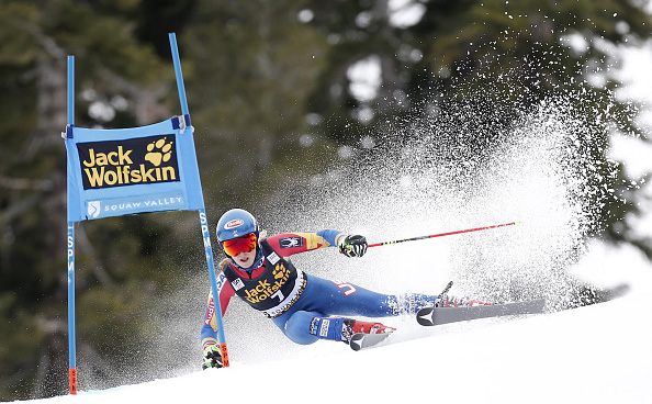 Shiffrin Takes Squaw Valley's Audi FIS Ski World Cup Giant Slalom Race