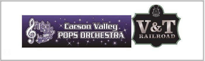 V&T Railroad Ride A Prelude To Carson Valley  Pops Orchestra Benefit Concert