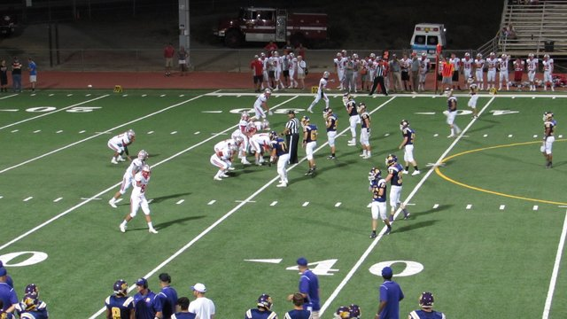 Live Truckee Football From Angels Camp