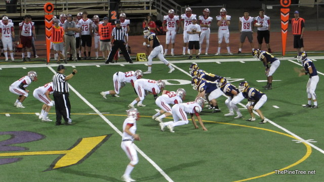 Football Season Kicks off with the Truckee Wolverines Pounding the Bret Harte Bullfrogs 61 – 7